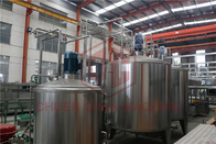 Aseptic Fruit Juice Processing Equipment Glass Bottle Honey Filling And Capping