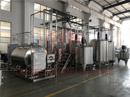 Three Tanks Carbonated Drink Production Line Fizzy Drink Making Machine