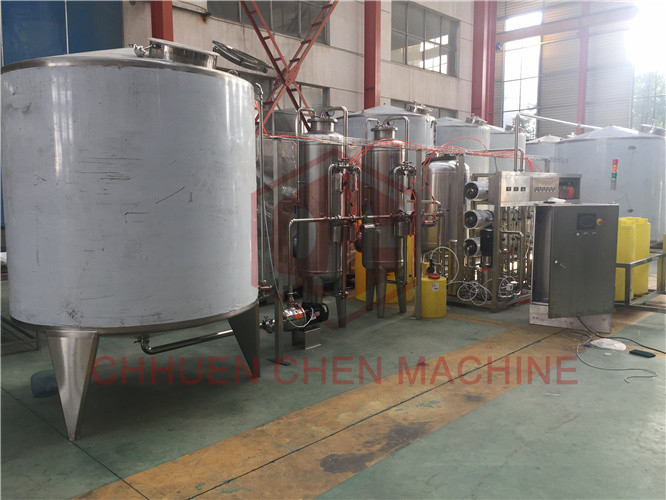 Stainless Steel Ro Water Filtration System For Drinking Water Filling Machine