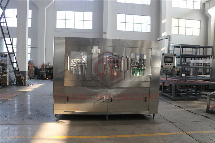 Commercial Washing Filling And Capping Machine , Ro Water Bottle Packing Machine