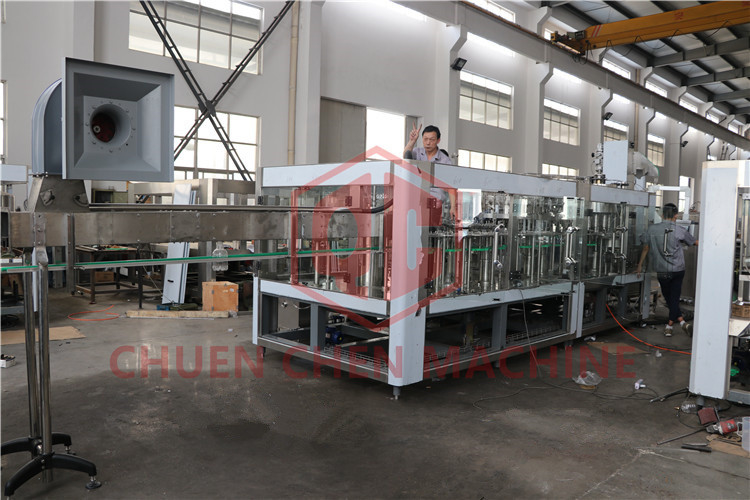 Plastic Bottle Beer Filling Machine With Co2 Injection System Brewery