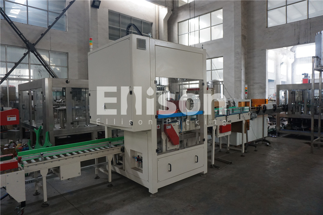Mineral Water Bottle Carton Folding Packaging Sealing Production Line Automated